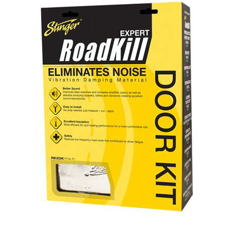 Stinger Roadkill RKXDK Sound Deadening Door Kit