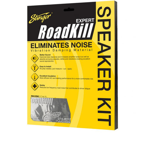 Stinger Roadkill RKXSK Sound Deadening Speaker Kit