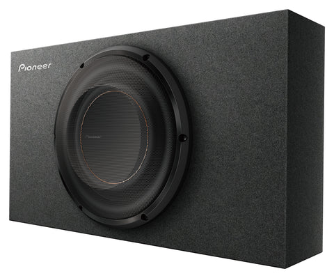 "Pioneer TS-D10LB 10.0"" Shallow Mount Sub in Compact Box"