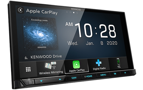 "Kenwood DDX9020DABS 2DIN 7.0"" AV Receiver w/Apple CarPlay & Android Auto Wireless"