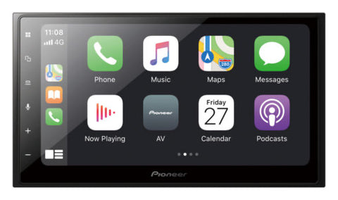 "Pioneer DMH-Z6350BT 2DIN 6.8"" AV Receiver w/Apple CarPlay Wireless & Android Auto"