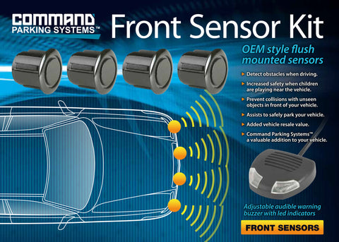 4 x Front Parking Sensors w/Audible Buzzer