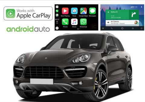 Apple CarPlay/Android Auto Add-On for Porsche Cayenne 11-17