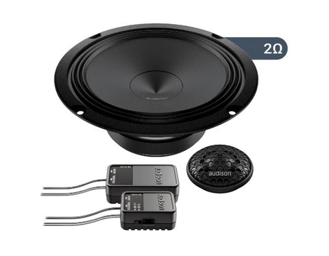 "Audison APK1652ohm Prima Series 6.5"" Component Speaker"