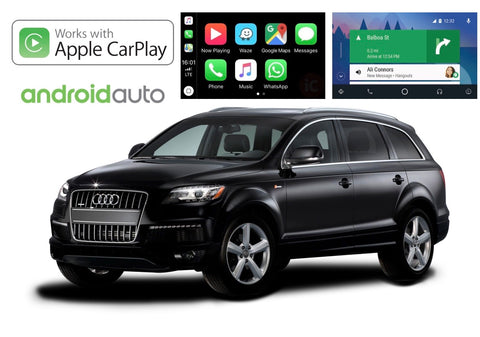 Apple CarPlay/Android Auto Add-On for Audi Q7 (4L)