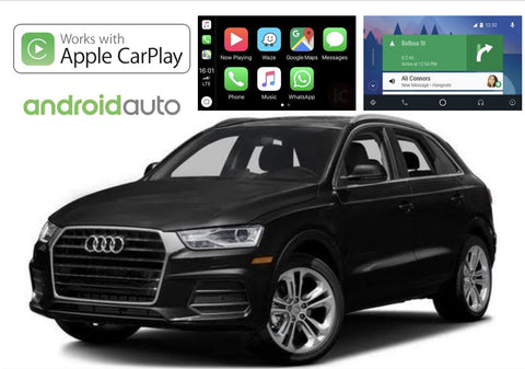 Apple CarPlay/Android Auto Add-On for Audi Q3 2011-Up