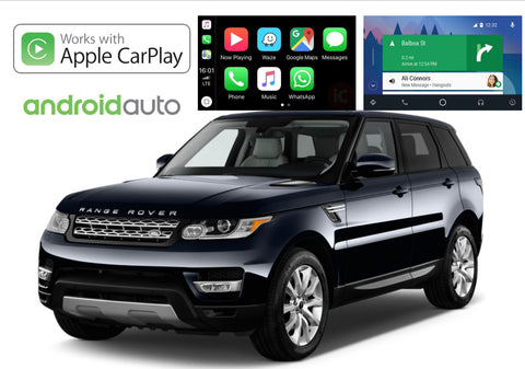 Apple CarPlay/Android Auto Add-On for Range Rover Sport