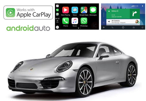 Apple CarPlay/Android Auto Add-On for Porsche 991/981