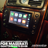 Apple CarPlay/Android Auto Add-On for Maserati Quattroporte 03-08