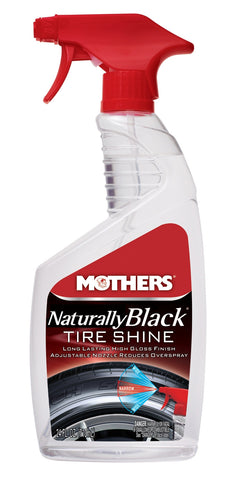 Mothers Naturally Black Tyre Shine 710ml