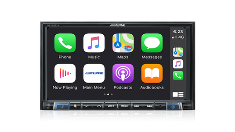 "Alpine INE-W987A 2DIN 7.0"" GPS Receiver w/Apple CarPlay & Android Auto"