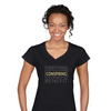The Positive Thinking Secret V-Neck Shirt For Women v2
