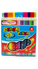 Keyroad Junior Tri Color Pencil-24c