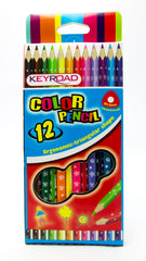 Keyroad Junior Tri Color Pencil-12c