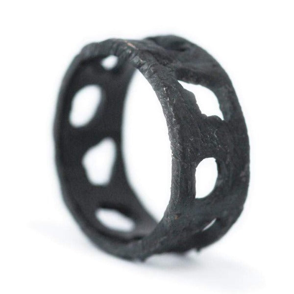 Black Hole Cut Out Ring