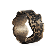 Brushed Bronze Vintage Mens Ring