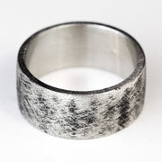 Silver Mens Customizable Ring