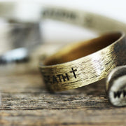 custom engraved wedding band