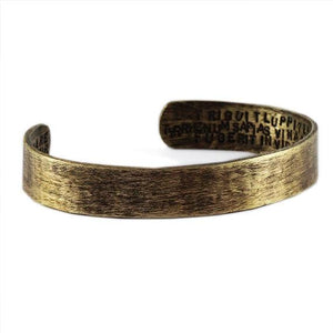 antique brass bracelet