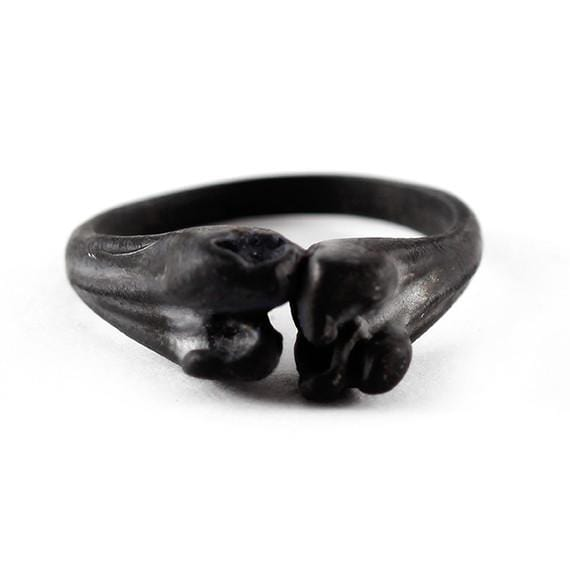 black bone ring