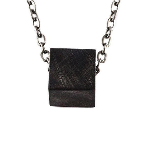 black necklace mens
