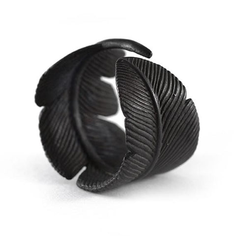 black rings for men