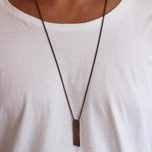 mens fashion carpe diem jewellery