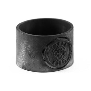 carpe diem black ring