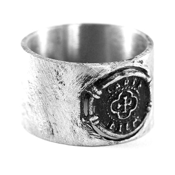 carpe diem silver ring