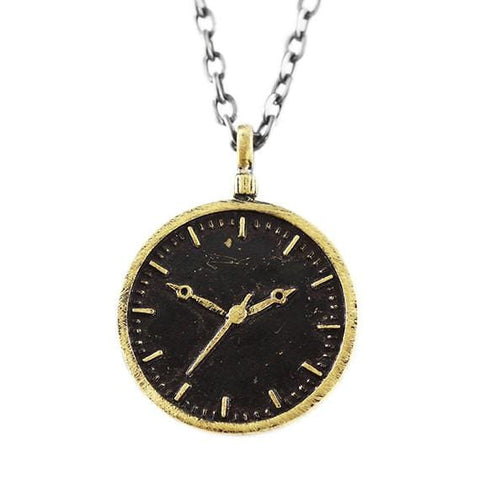 clock face pendant