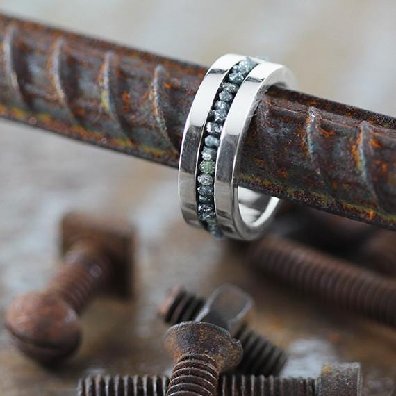 cool mens wedding band