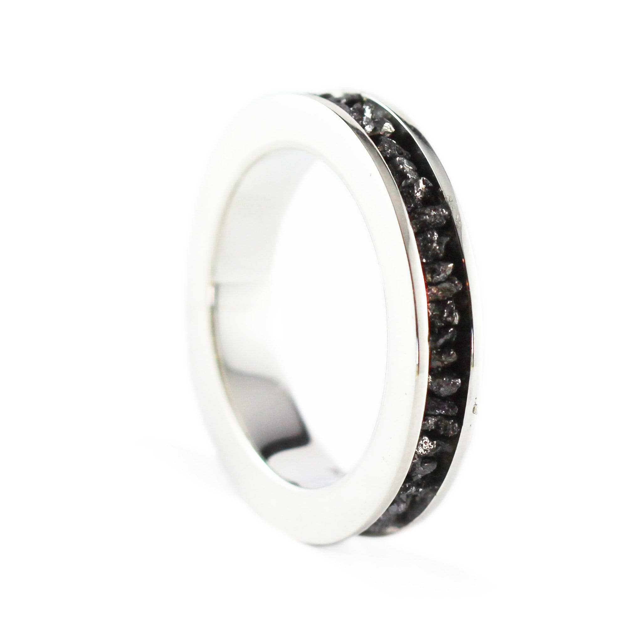 in jewelers hexagonal eternity product band bezels bands reuven black diamond gitter