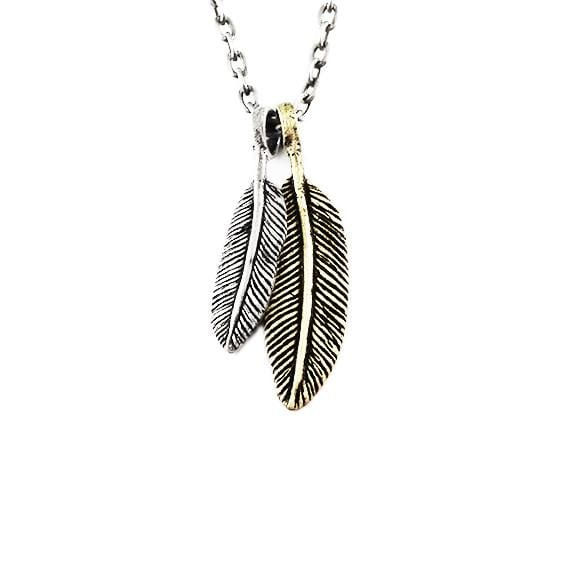 feather necklace