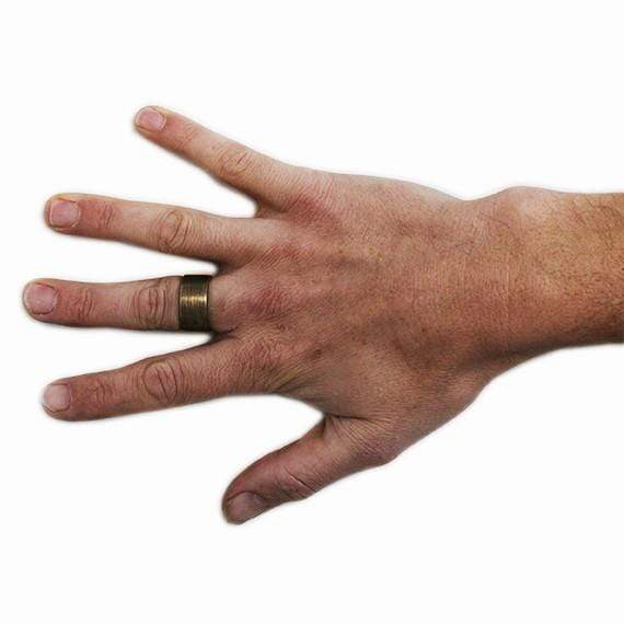 Gold Mens Customizable Ring