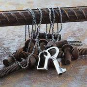 lock and key pendant