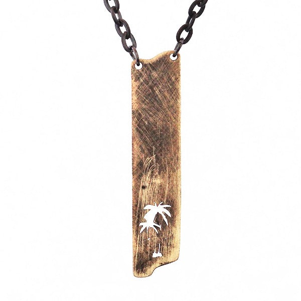 Palm Gold Necklace