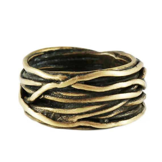 man gold ring