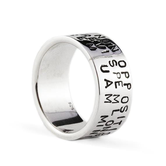 man personalize ring