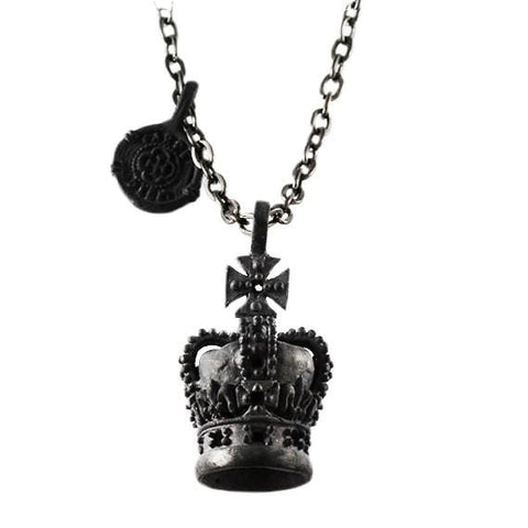 mens black necklace
