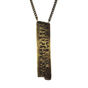 mens gold pendant