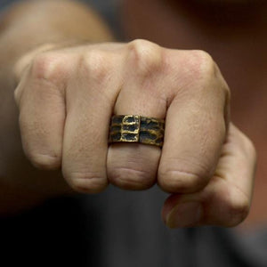 mens ring gold