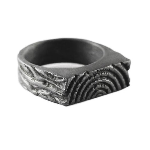 mens rings balc silver