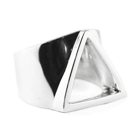 mens rings triangle