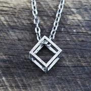 mens silver necklace