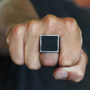 mens square ring