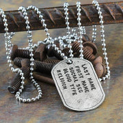 personalize dog tag