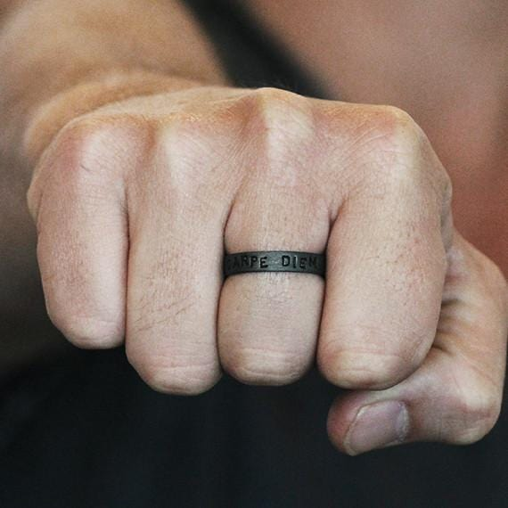 personalize man ring
