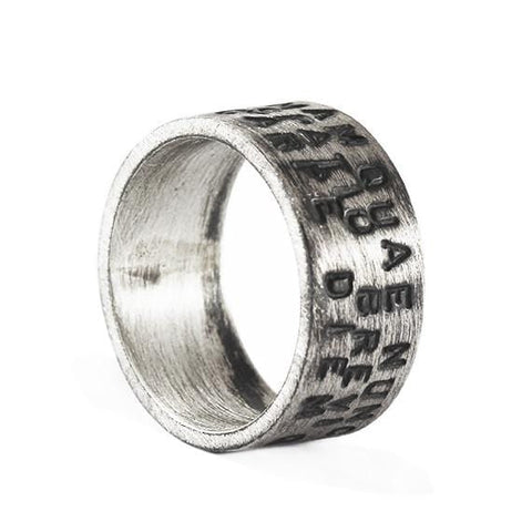 personalized man ring
