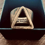 carpe diem custom engraved ring