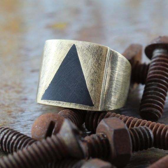 rustic man ring